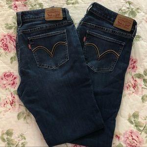*2 pairs* Levi's | 535 Super Skinny 31